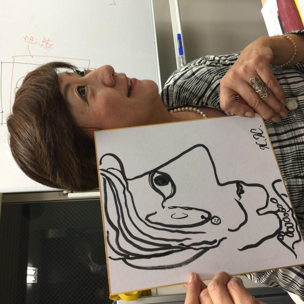 AIが描いた私